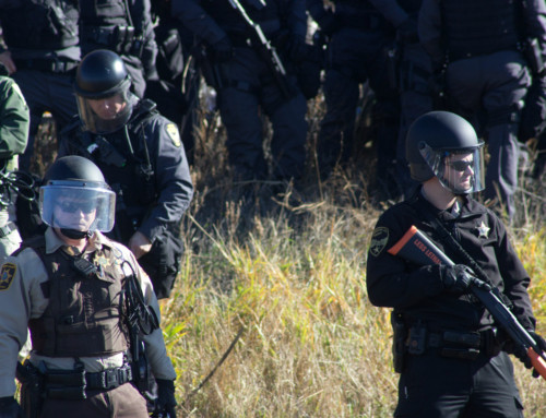 Conversation with Federal Agents dispatched to Standing Rock